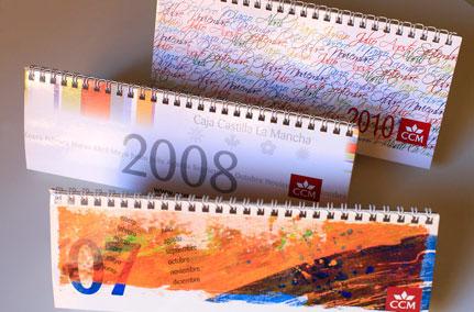 Diseño de distintos calendarios