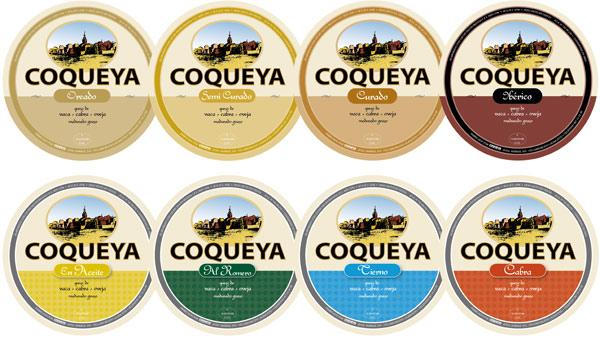 Diseño de etiquetas <br />para línea de quesos