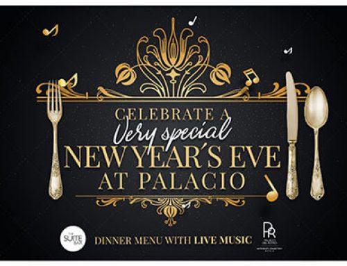 Diseño gráfico para cena en hotel