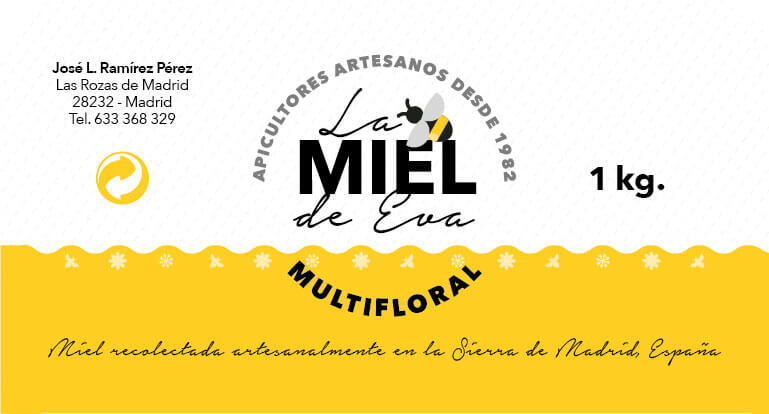 Diseño de packaging para miel