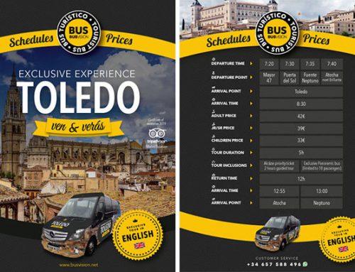 Diseño de flyer para promoción turística