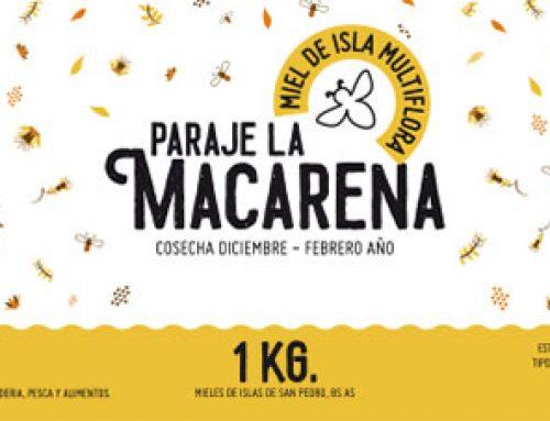 Diseño de etiqueta para miel