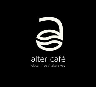 Diseño para logotipo vertical de café