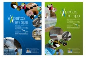 Diseño de anuncio para revista