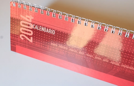 Diseño de portadilla para calendario