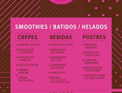 Gráfica para carteles de pastelería
