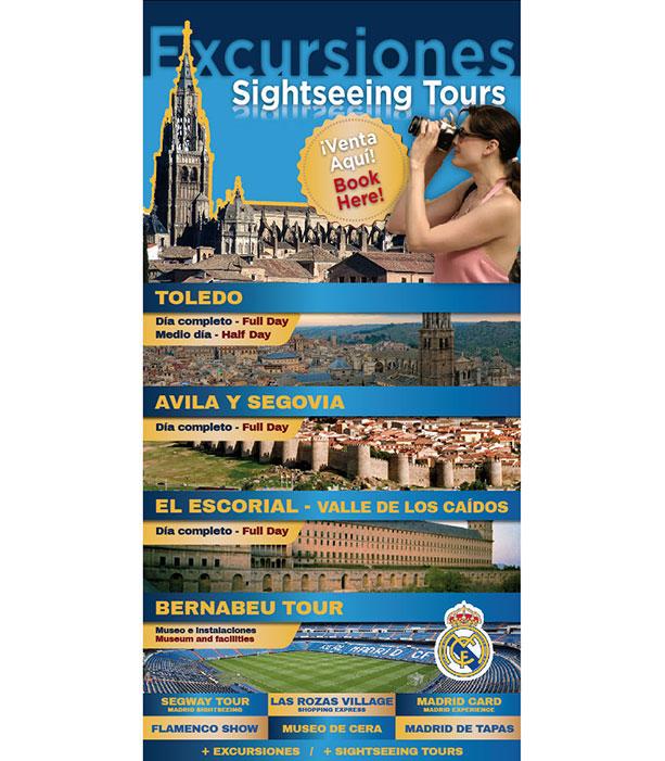 Cartel para excursiones