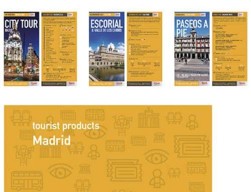 Desarrollo de imagen corporativa Tourist Products Madrid