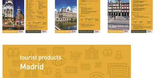 Desarrollo de imagen corporativa para Tourist Products Madrid