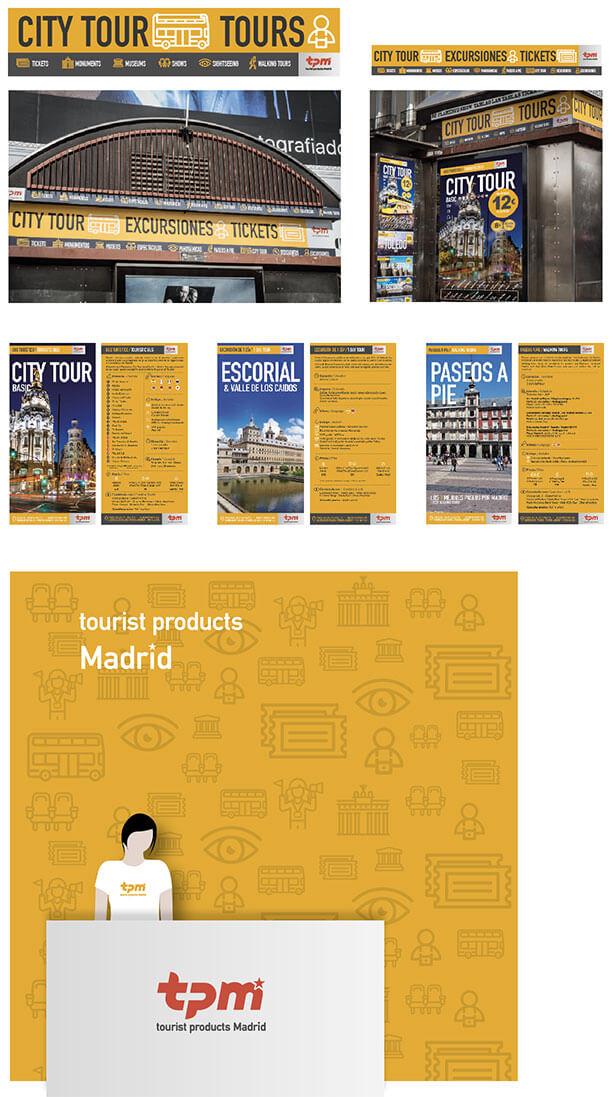 Diseño de imagen corporativa para productos turísticos