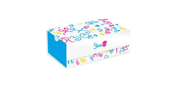 Diseño para caja de calzados