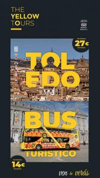 Diseño de cartel para The Yellow Tours