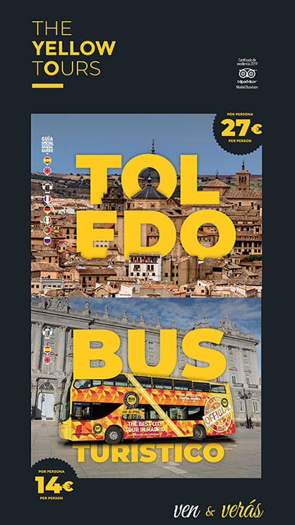 Cartel para tours en Madrid
