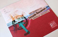Diseño folleto jornada deportiva