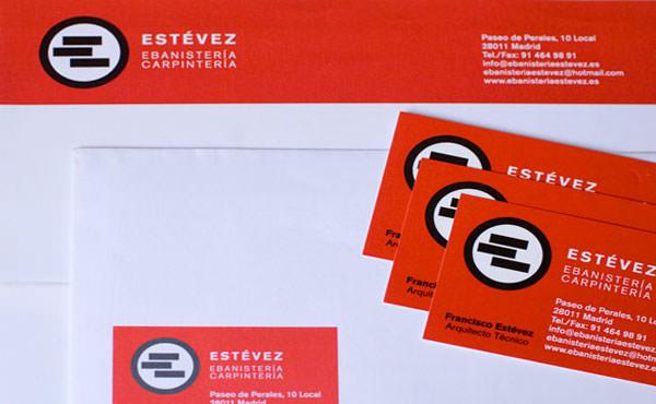 Diseño logotipo y papeleria ebanista