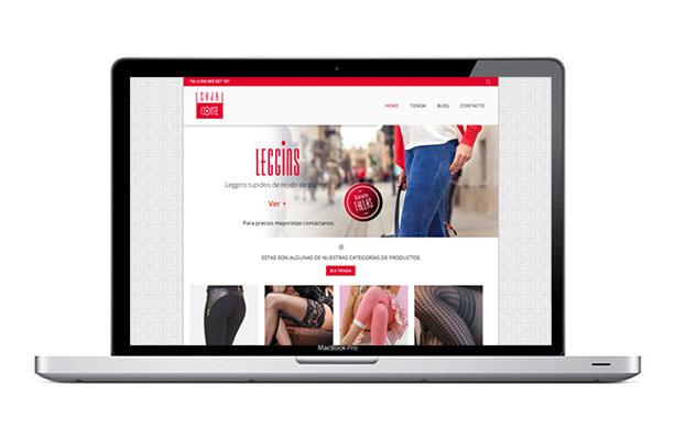 Diseño web con tienda online