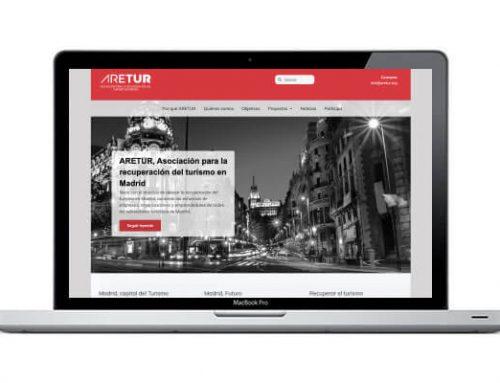 Creación de página web para asociación del sector turístico