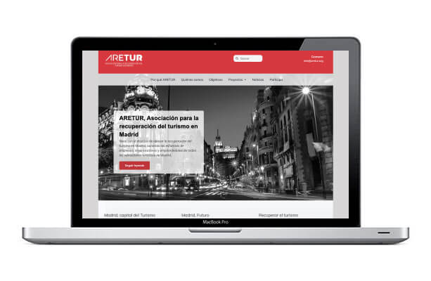 Diseño de web para asociación