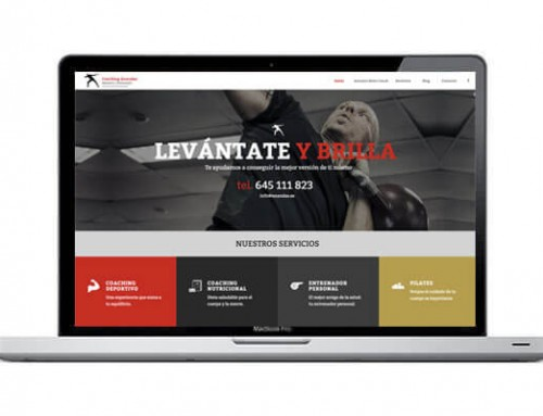 Web para coaching deportivo
