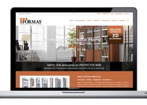 Diseño web para fabricante de mobilicario