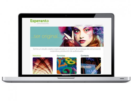 Página web para estudio de estrategias de marketing