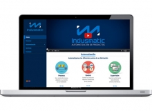 Página web para sector industrial