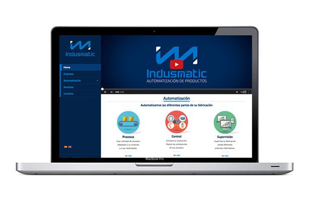 Página web para industria