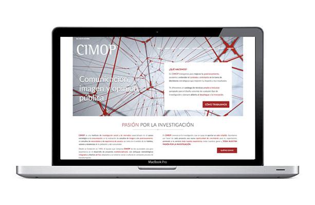 web para empresa de comunicación