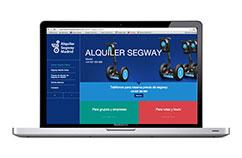 Creación de web para servicios turísticos