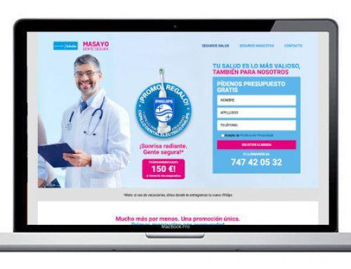 Diseño web para seguros de salud