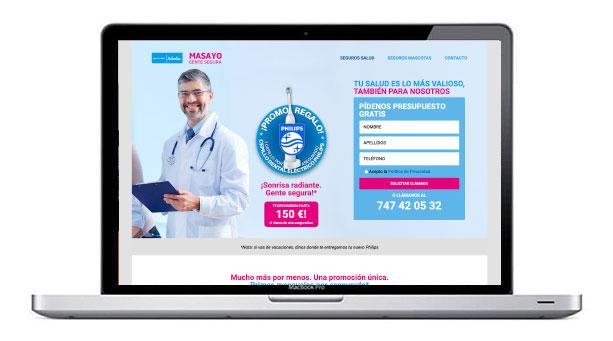 web para seguros