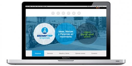 Página web servicios para empresas