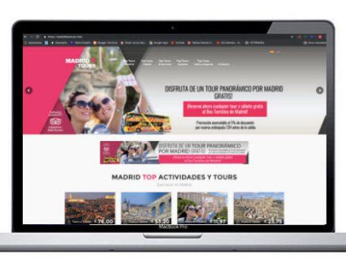 Diseño de página web para excursiones turísticas