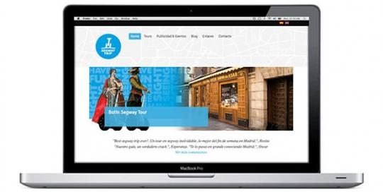 Creación sitio web servicios