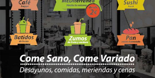 Diseño de imagen para restaurante