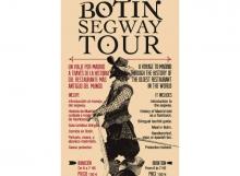 Material publicitario para promoción de tours