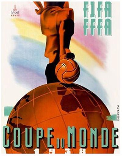 Francia, Mundial de Fútbol 1938