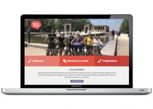 Diseño web para guía en Madrid
