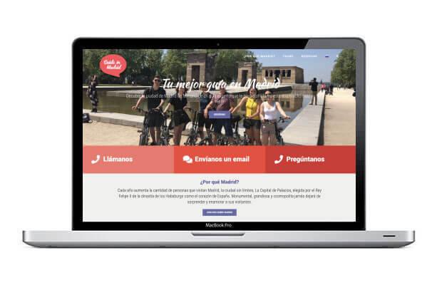 Diseño web guía turístico
