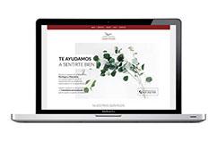 Diseño de página web para psicólogo