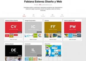 Diseño para red social Pinterest