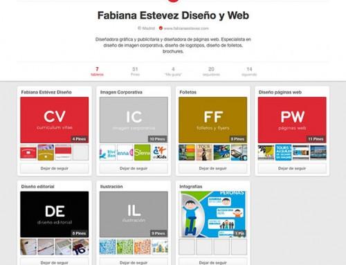 Creación perfiles sociales Pinterest