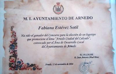 Certificado de logotipo ganador