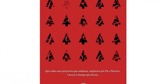 Diseño de tarjeta de Navidad 2013