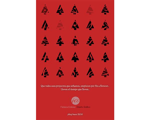 Diseño tarjeta Navidad 2013