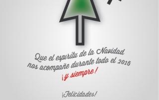 Tarjeta de Navidad 2015-2016