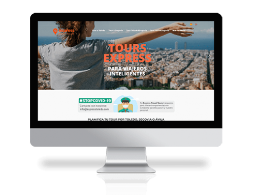 Web en wordpress para turismo