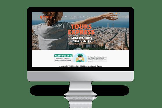 Página web para viajeros