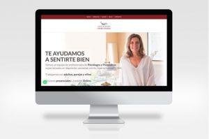 pagina web para psicólogo